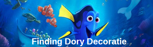 Nu verkrijgbaar, Finding Dory aquarium decoratie